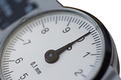 Uhr-Messschieber DialMax® Ziffernblatt