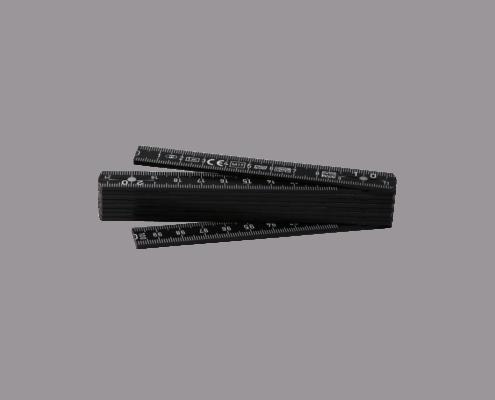 LongLife Zollstock 1m (Taschenmeter) schwarz