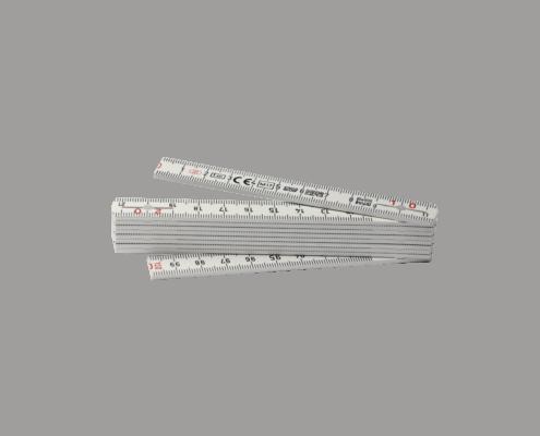 LongLife Zollstock 1m (Taschenmeter) weiss