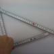 Winkel messe mit dem Zollstock ohne Winkeleinteilung - Kunststoffwerk AG Buchs - LongLife